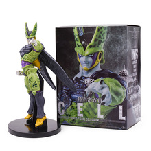 Anime Dragon Ball Z GT Super Saiyan BWFC Cell Action Figure Toy PVC Figurine Collectible Model Great Birthday Christmas Gift hot in stock dragon ball cell super kawaii mini toy doll anime action figure cool lovely christmas gift