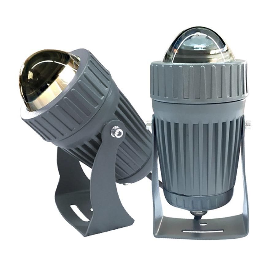 Us 23 75 24 Off 10w Led Focus Light Ip68 Waterproof 30 50meters Ac85 265v Outdoor Lamp Fixture Commercial Lighting For Street Pool In