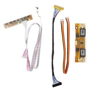 Image 5 - V56 V59 تلفاز LCD لوحة للقيادة DVB T2 7 مفتاح التبديل IR 4 مصباح العاكس LVDS عدة 3663