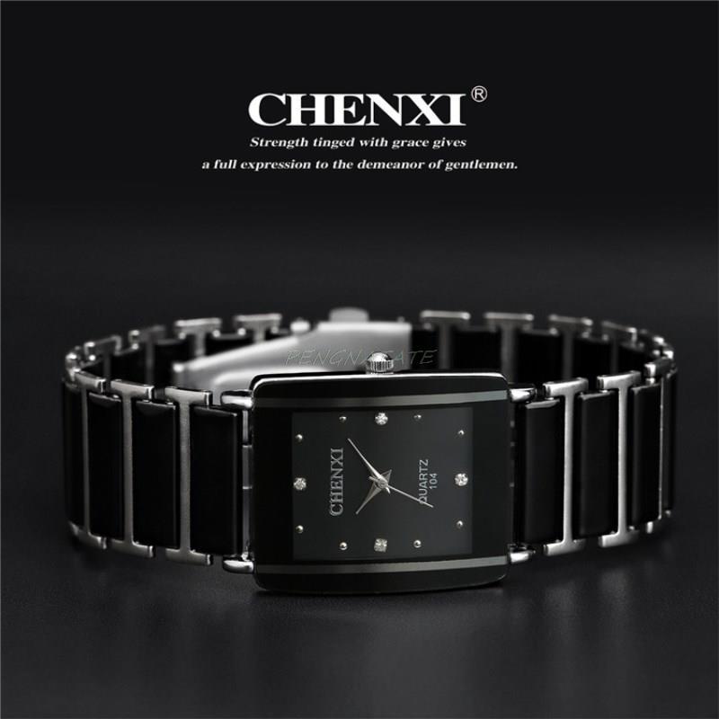 CHENXI NYHET Fashion Women Watch Men Topp Märke Luxury Armbandsur - Herrklockor - Foto 5