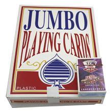 52 шт гигантские игральные карты Jumbo Poker Garden Волшебные семейные вечерние игровые карты