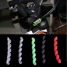 Защитное снаряжение для велосипеда, Велосипедный тормозной кабель, защита корпуса, защита от трения, велосипедная линия, Аксессуары для велосипеда