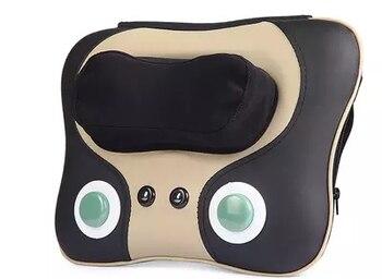 Cervical spine massager massage neck shoulder waist pillow cushion for leaning on of jade ochre warm massage whole body massage