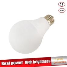 Real power Led Lamp E27 220V 110V Light 3W 5W 7W 9W 10W 12W 15W SMD2835 Luz ampoule lampadas de Bombillas LED Bulb Spotlight