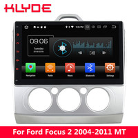 KLYDE 10.1 IPS 4G Android 8 Octa Core 4GB RAM 32GB ROM Car DVD Player Radio For Ford Focus 2 2004 2005 2006 2007 2008 2009 2011