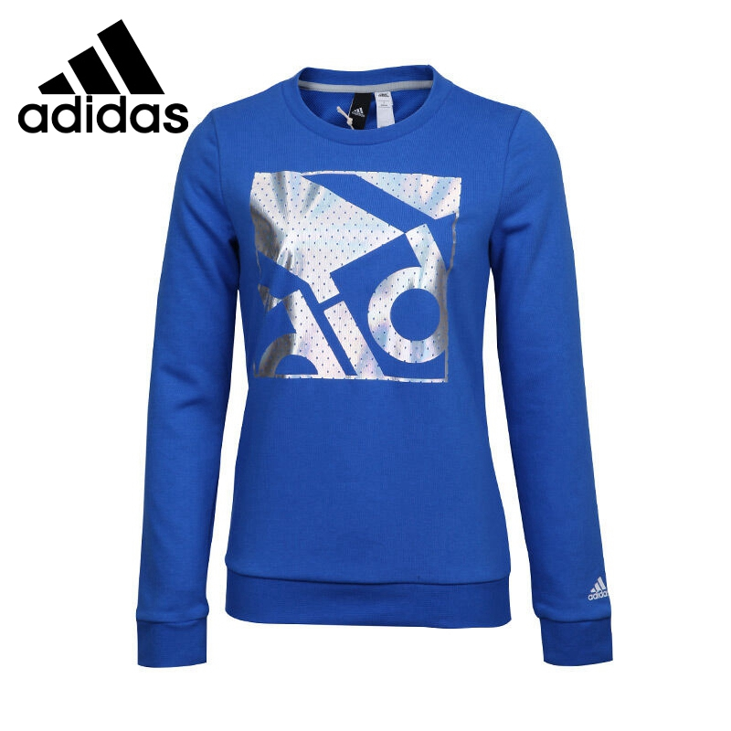 Original New Arrival  Adidas EN FOIL CREW Women's  Pullover Jerseys Sportswear original new arrival official adidas neo men s breathable o neck pullover jerseys sportswear