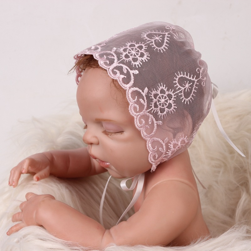 1e64f1e86d5 Detail Feedback Questions about Lace Hollow Newborn Hats Baby Caps ...