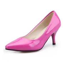 ใหม่2016ผู้หญิงปั๊ม5เซนติเมตรส้นรองเท้าผู้หญิงบางยุโรปและอเมริกาสไตล์แฟชั่นรองเท้าส้นสูงเซ็กซี่รองเท้าพรรคZ Apatos Mujers
