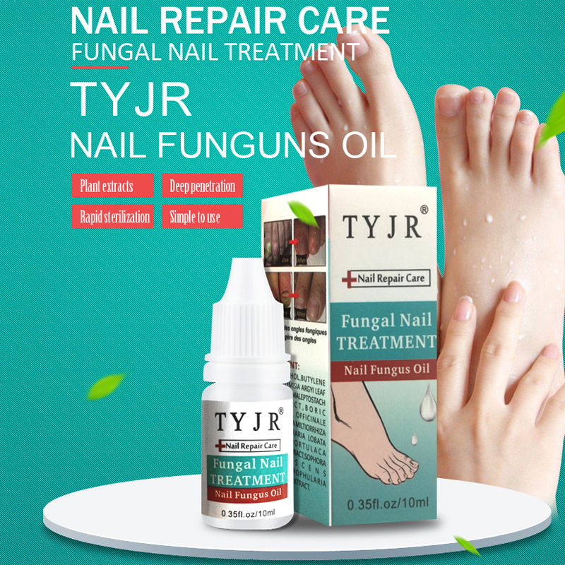 Nail Treatment Essence Nail And Foot Whitening Toe Fungus Removal Feet Care Gel Onychomycosis Anti Fungal Nail Infection Liquid