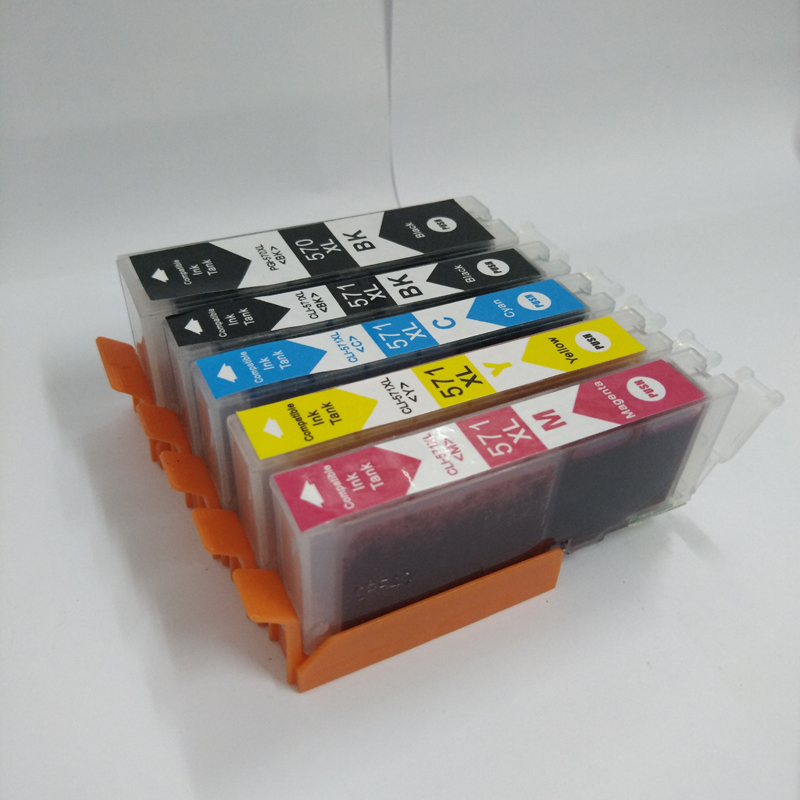 For Canon PGI 570 CLI 571 Ink Cartridge for canon pixma MG5750 MG5751 MG5752 MG5753 MG6850 MG6851 MG6852 MG6853 pgi570 pgi 570 in Ink Cartridges from Computer Office