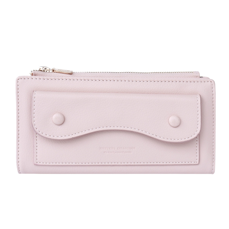 Fashion Long Wallet for Women Zipper Hasp PU Leather Bifold Clutch Phone Case Female Ladies Card Holders Bag Coin Purse Carteira 2017 new dress flower baby girl lace dresses birthday party wedding ceremonious toddler girls clothes girl tutu dress for kids