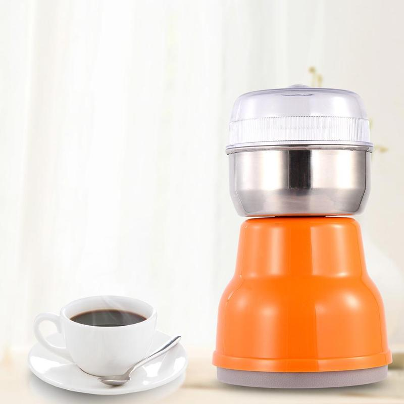 200W Electric Coffee Grinder Mini Coffee Bean Mill Grinding Machine Herbs Spices Nuts Grains Grinder Grinding Miller Kitche Tool burr grinder coffee bean miller electric 220v electric coffee grinder coffee grinding machine powder mill
