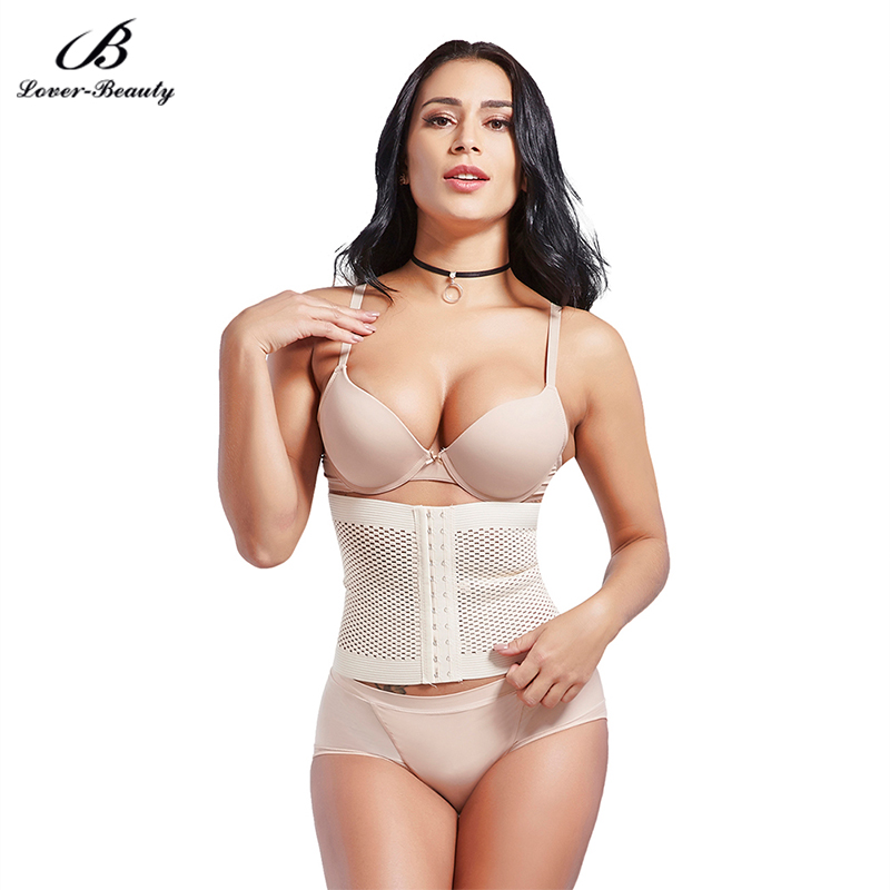 Lover Beauty Slimming Excellent Nude Eyelet Body Shaper Fat Burner Hook Front Closure   Corsets   Sexy   Bustier   Shapewear-A