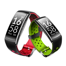 2017 новые Q8 Smart Band IP68 Водонепроницаемый браслет сердечного ритма сна Мониторы Фитнес трекер SmartBand браслет для IOS Android