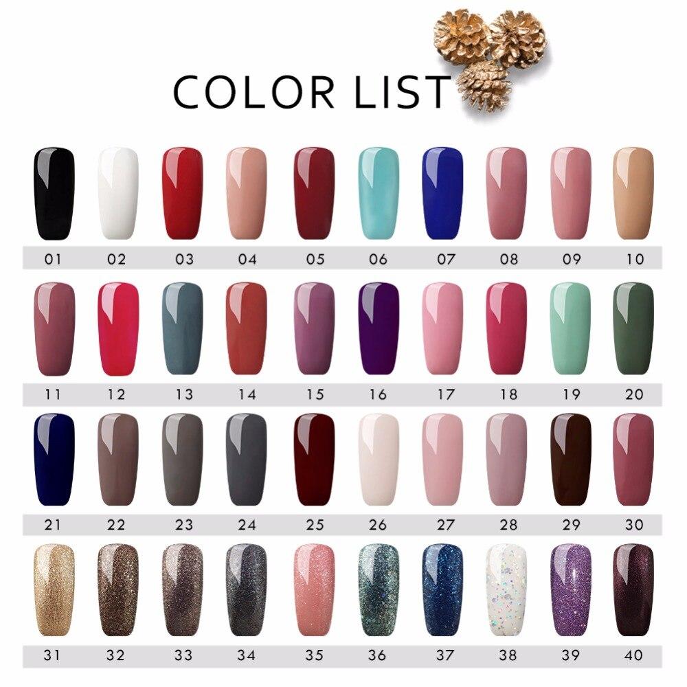 Full Manicure Set Brushes For Manicure With UV LED Lamp Set For Nail Gel Polish Tools For Manicure Nail Art Gel Nail Polish Kit