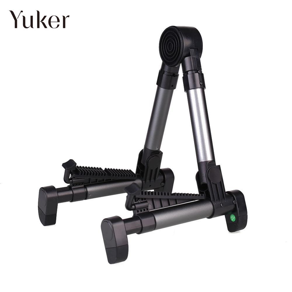Yuker Guitar Stand Universal Folding A-Frame use for Acoustic Electric Guitars Guitar Floor Stand Holder цены онлайн