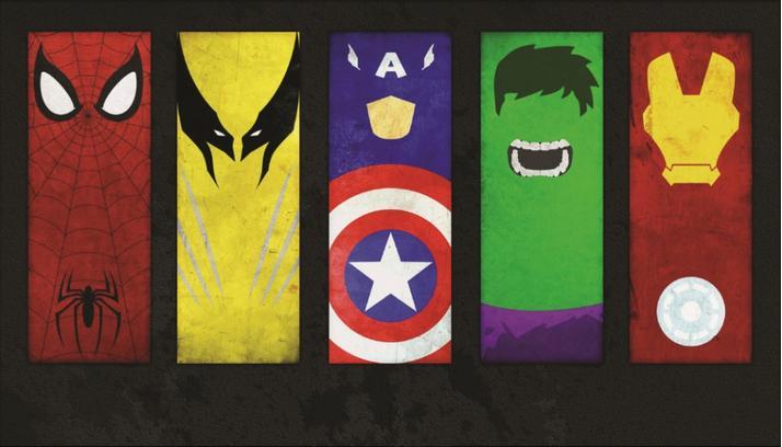 Marvel Superhero Symbols List