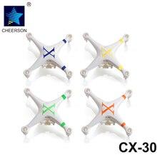 Cheerson CX-30 RC Mini Quadcopter Drone De Rechange Pièces CX30 Supérieure et Inférieure Body Cover Shell Pour CX-30