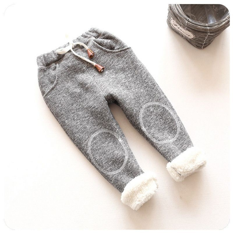 8ab7fcf7031ae spring autumn baby girls winter leggings children plus thick velvet pants  casual kids warm christmas tracksuit pants-in Pants from Mother & Kids on  ...