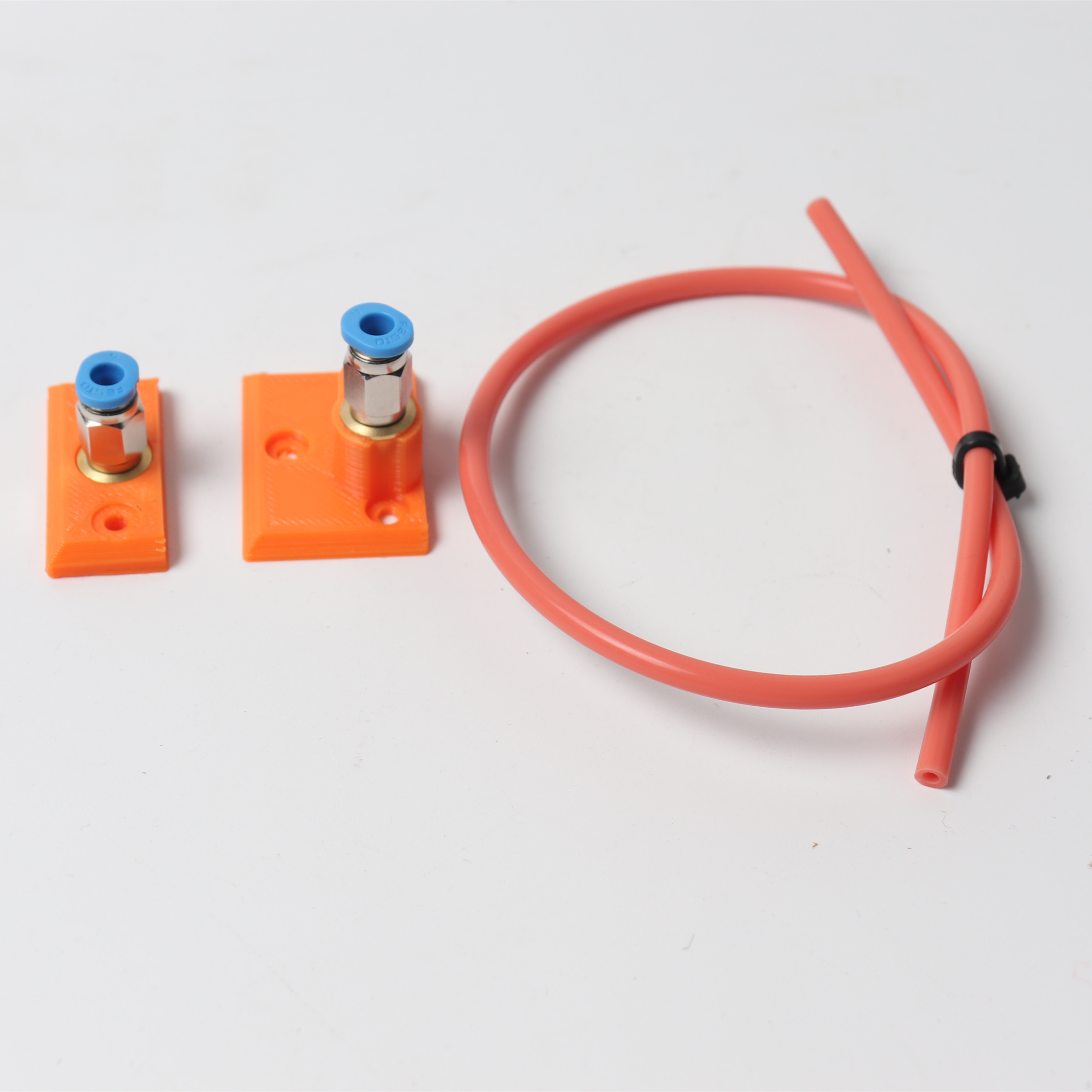 Prusa I3 MK2.5/MK3 Multi Materials 2.0 Upgrade Kit Pneumatic Fittings, 2*4 PTFE Bowden Tube Set