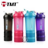 Tmt ginásio esporte água shaker garrafa pp proteína em pó caixa fitness misturada 316 shaker portátil grande garrafa não-bpa acessórios ao ar livre