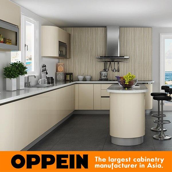 Kitchen Furniture Price: Guangzhou Canton Fair New Design Kitchen Furniture Acrylic