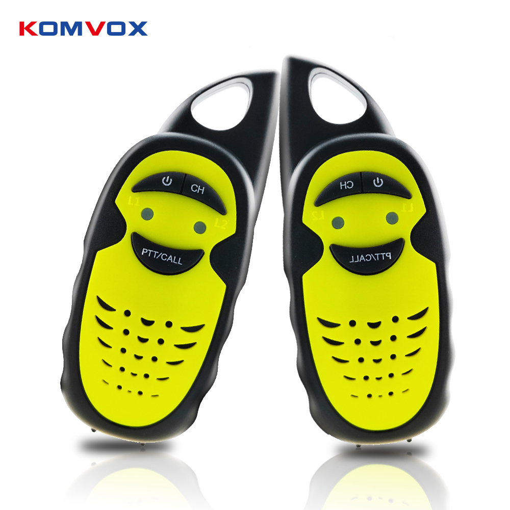 Kids Mini Walkie Talkie Two Way Radios With 3 Channels Switch FRS UHF400-47OMHZ 3KM Intercom For Children Toys Outdoor Gaming