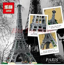 City Creator LEPIN 17002 3478pcs The Eiffel Tower Model Building Kits Minifigures Brick Toys Compatible 10181 Christmas Gift