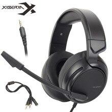 Xiberia NUBWO N12 PS4 шлем Бас-гарнитура PC Игровые наушники С микрофоном для nintendo переключатель Новый Xbox One Moblie PUBG игры