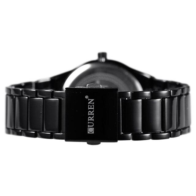 CURREN Men's Luxury Display Date Waterproof Quartz Watches 5