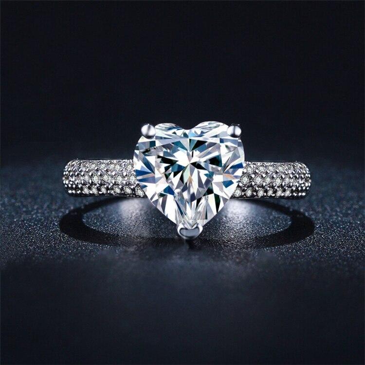 Big Cheap Wedding Rings: Popular Diamond Rings Heart-Buy Cheap Diamond Rings Heart