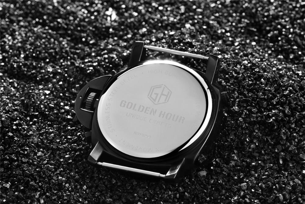 ผู้ชายแฟชั่นW Ristwatcheหรูหราร้อนแบรนด์ฉลามนาฬิกาสไตล์ผู้ชายสายหนังนาฬิกากีฬานาฬิกาที่มีคุณภ... 12