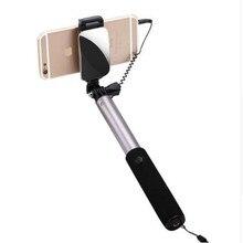 2017 gopro 3 + 4 действий камеры selfie stick зеркало дистанционного смартфон selfie stick sjcam мобильный телефон ручной монопод для xiaomi