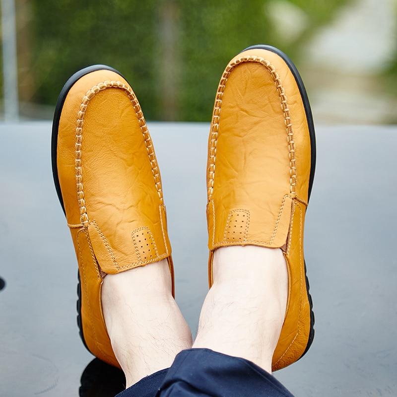 Valstone Популярни Кожени Обувки Мъжки - Мъжки обувки - Снимка 5