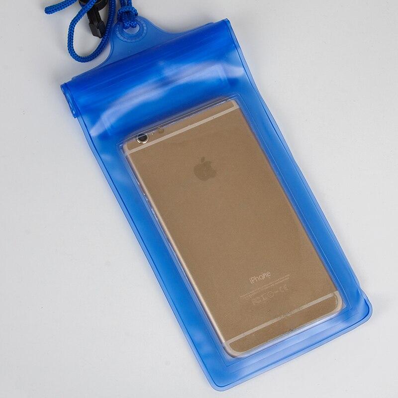 500 шт/партия 5 дюймов Универсальный мобильный Водонепроницаемый чехол сумка для iPhone 6 7 Plus 8+ защитный чехол ниже 6 ''телефон
