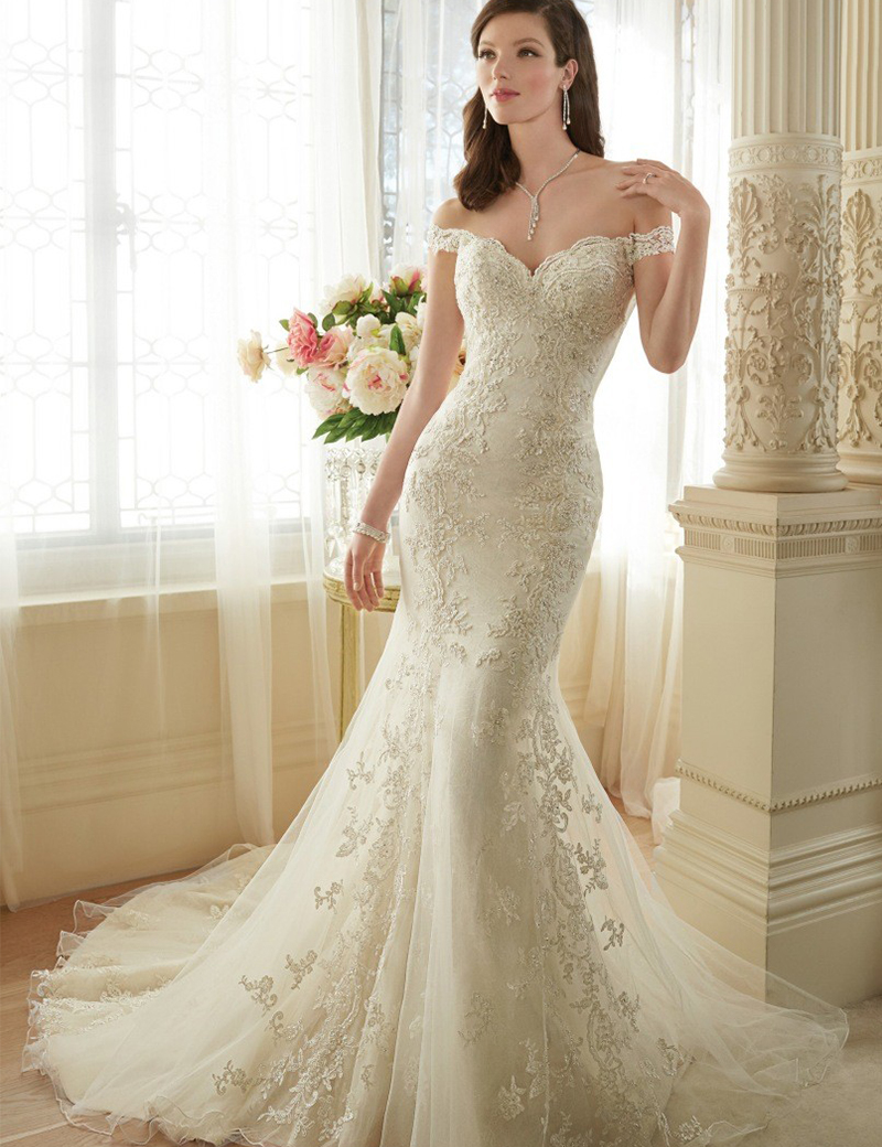 allure bridals sheer back wedding dress Allure Bridals Wedding Dress