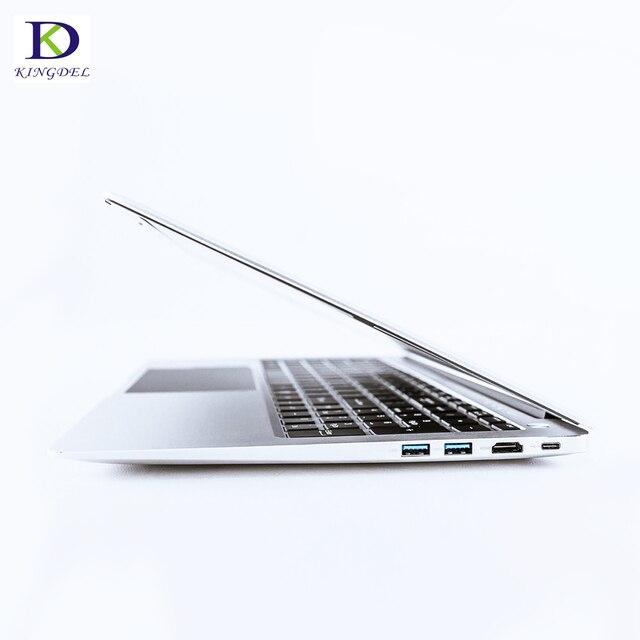 Más DDR4 15,6 pulgadas Ultrabook Laptop i7 8550U i5 8250U Quad Core  UltraSlim Ordenador Portátil con Bluetooth WiFi BacklitKeyboard