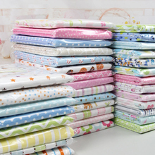 2 pcs 76x76 cm baby blankets Newborn Baby Bed Sheets 100%knitted Cotton Super Soft Crib Sheet Baby Bedding Set Infant Cot Sheets(China)