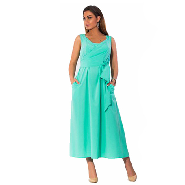 Fat MM 6xl Plus Size Summer Chiffon Dresses Women Hot Sale Cute Knot Bow  Wedding Party Long Dress Sleeve Large Size Clothing b5cefebe0389