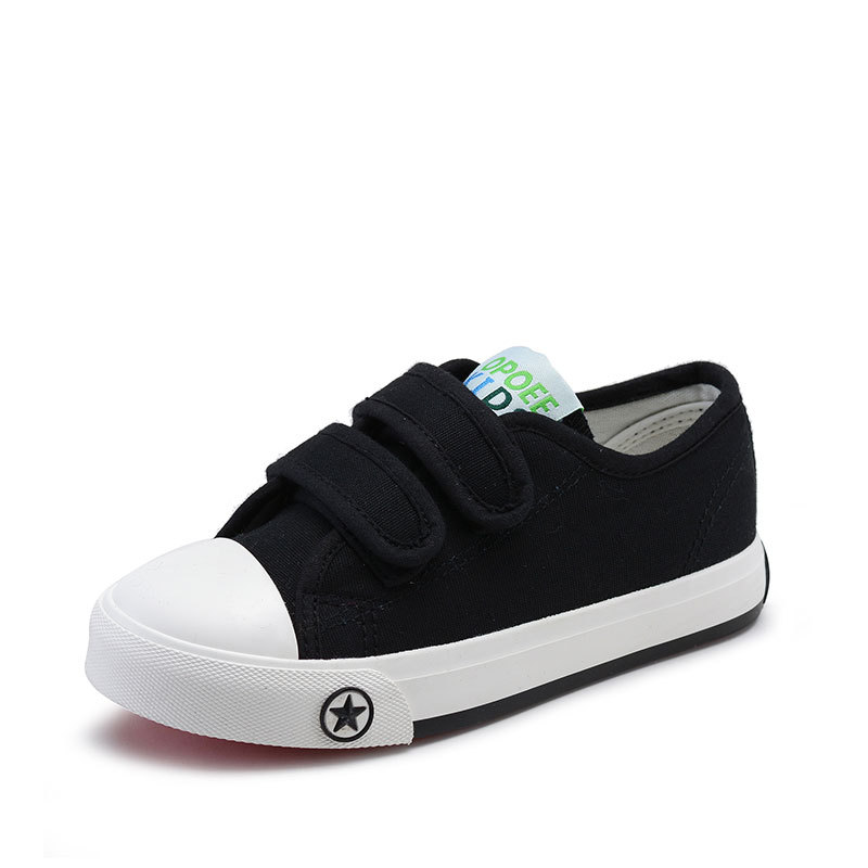 New brand Cool canvas kids shoes breathable patch lace up boys girls sneakers high quality fashion children baby causal shoes
