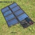 BUHESHUI Faltbare 50 watt Solar Panel Ladegerät/Handy-ladegerät USB 5 v + DC18V Ausgang Für 12 v Batterie ladegerät Mit 3 mt Clips