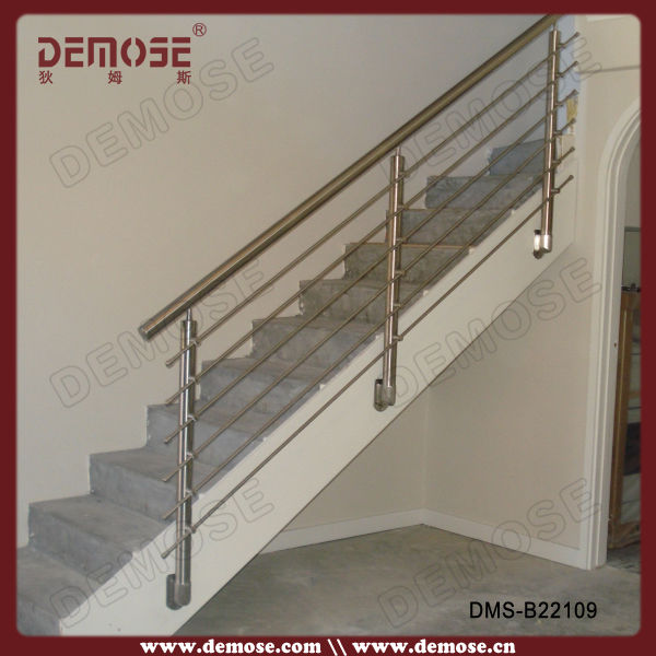 Decorativo de acero inoxidable alambre barandillas para escaleras en ...