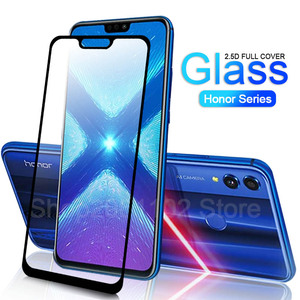 Image 1 - protective glass For Huawei honor 8x case tempered glas on huawei honor 20 10 lite 7x 7a 7c pro 8s 8a 8c 8x x8 screen cover film