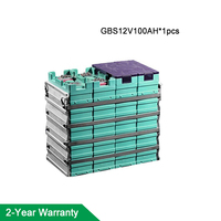 GBS 12V 100AH LIFEPO4 Battery for electric bicycle/tool/mower etc with connector