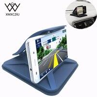 XMXCZKJ Universal Car Mobile Holder Clip Stand Dashboard Desktop Mount Anti Slip Holder GPS Bracket For