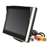 2017 뜨거운 판매 5 인치 800*480 TFT LCD HD 스크린 모니터 자동차 후면 역 사이드 백업 카메라 J23