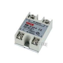 Твердотельное реле SSR-10AA-H 8А на самом деле 80-250 В переменного тока до 90-480 В переменного тока SSR 10AA H реле твердотельного сопротивления