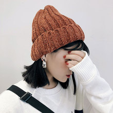 цены Solid Knit  Beanies Hats Winter Hats For Women Skullies Beanies For Girls Caps Hats Hip Hop Cap Bonnet Warm Caps Gorros Winter