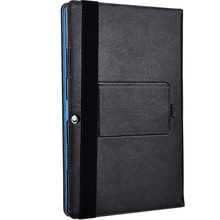 Flip Book Cover PU Leather Case with Stand for Chuwi Surbook Mini 10.8 Inch Tablet PC (can put keyboard)+ Stylus Pen