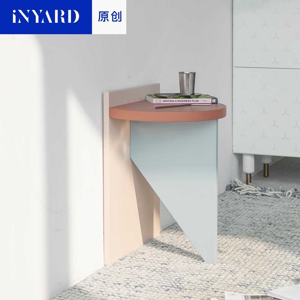 [InYard original] tricolor side / Nordic simplicity, modern designer furniture, bedside table, receive tea table ...